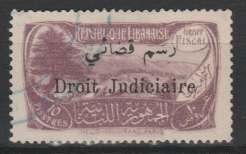 1932 Judicial Court Fees 10pia DD S57