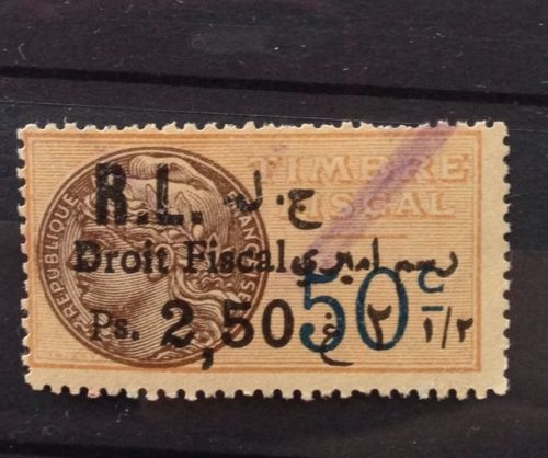 Droit Fiscal RL Biling Ps. 2,50 on French 50c