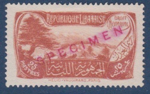 1929 Notarial Fees 25p SPECIMEN DD X43 201102912239